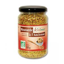 Moutarde à l'ancienne bio