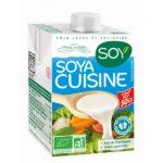 crème soja cuisine