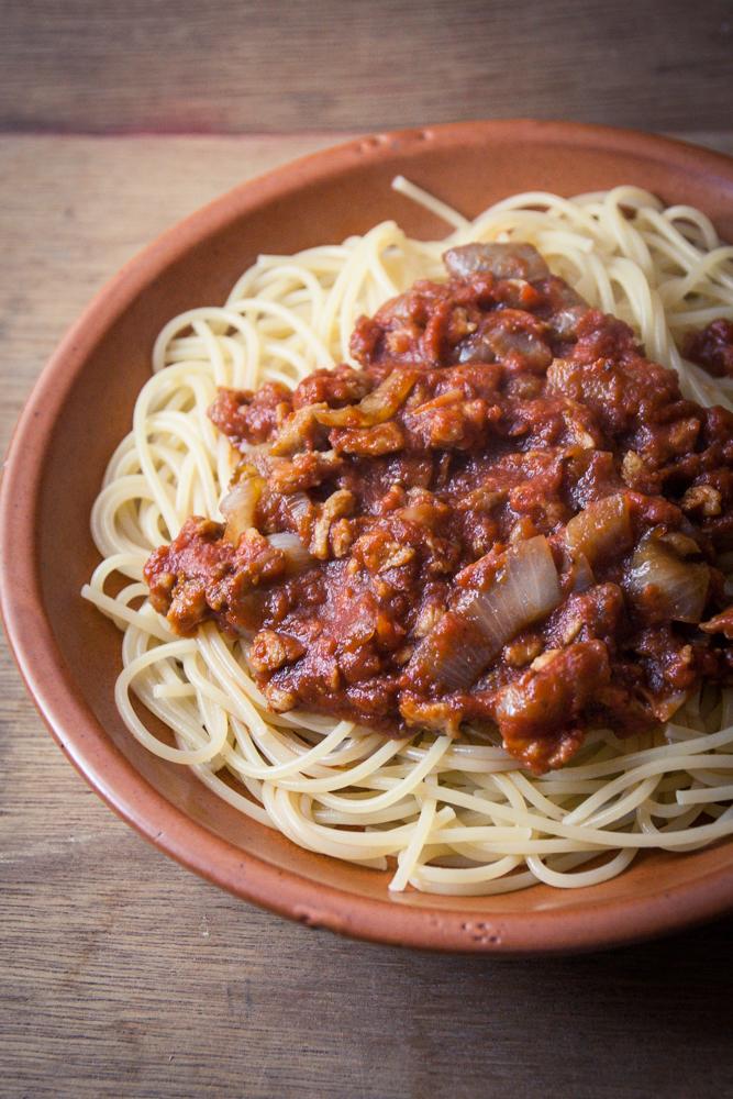 Spaghetti bolo v ganes aux pst cuisine v gane pour - Cuisine facile pour debutant ...
