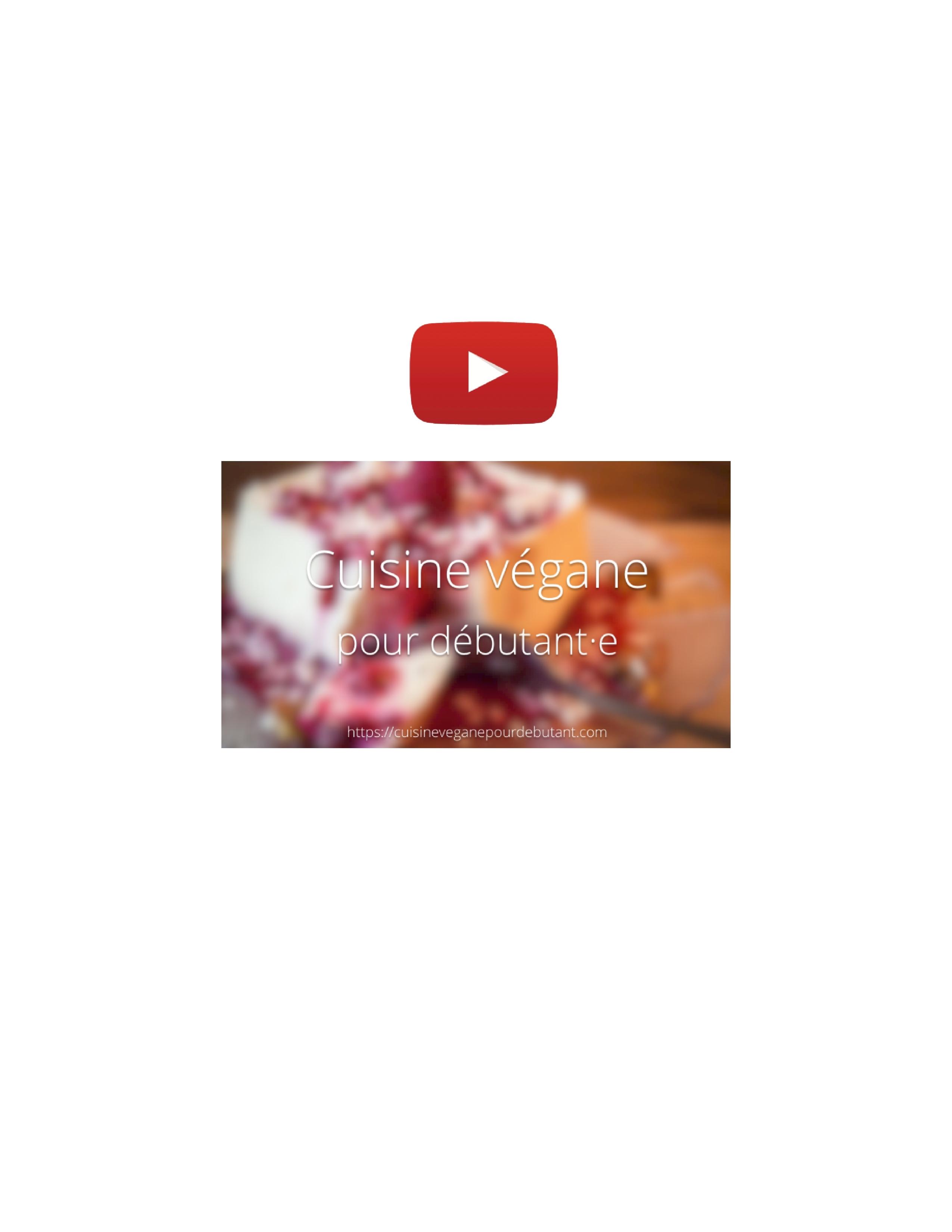 Le blog en musique cuisine v gane pour d butant e - Cuisine pour les debutants ...