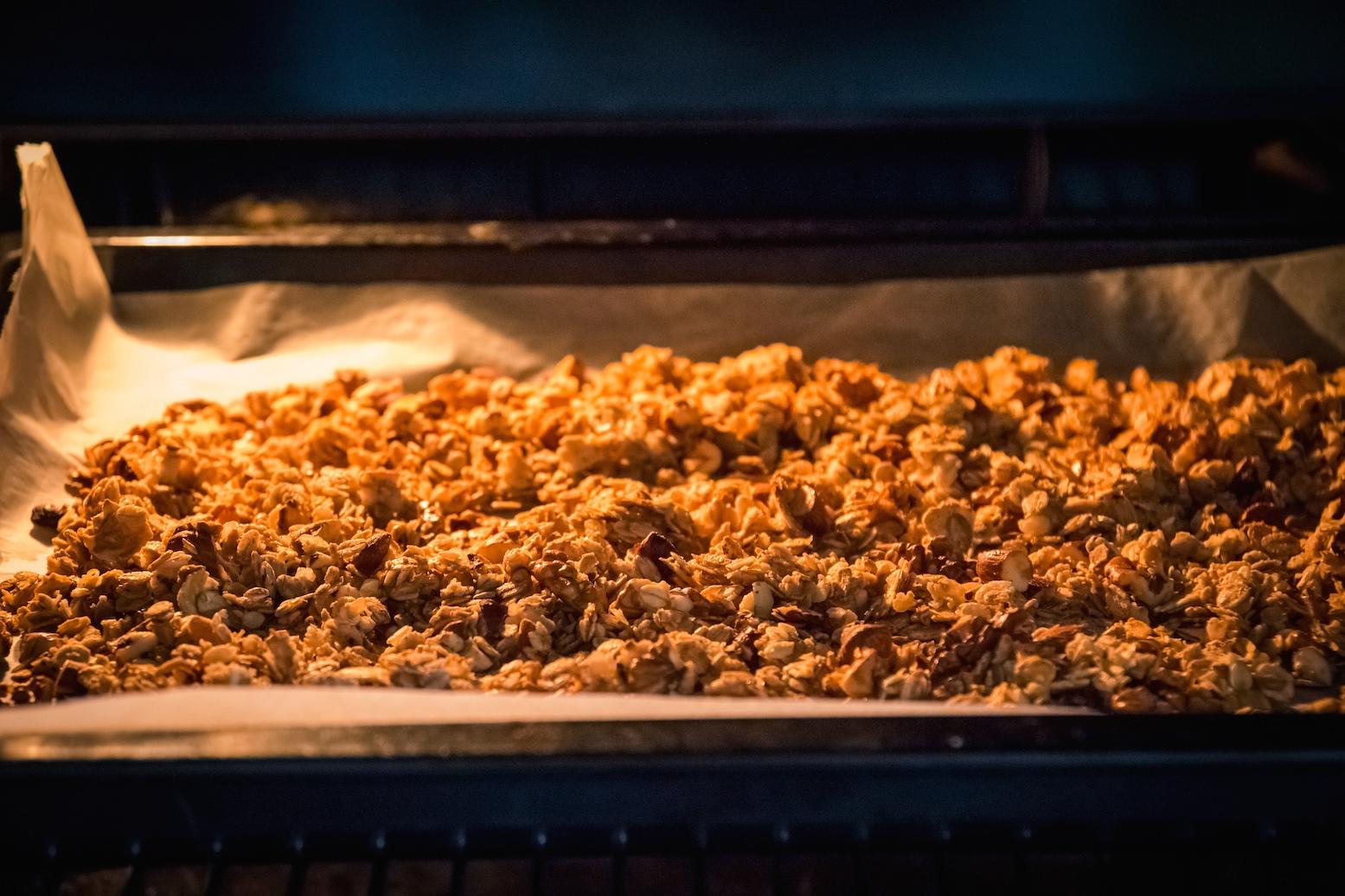 granola au four