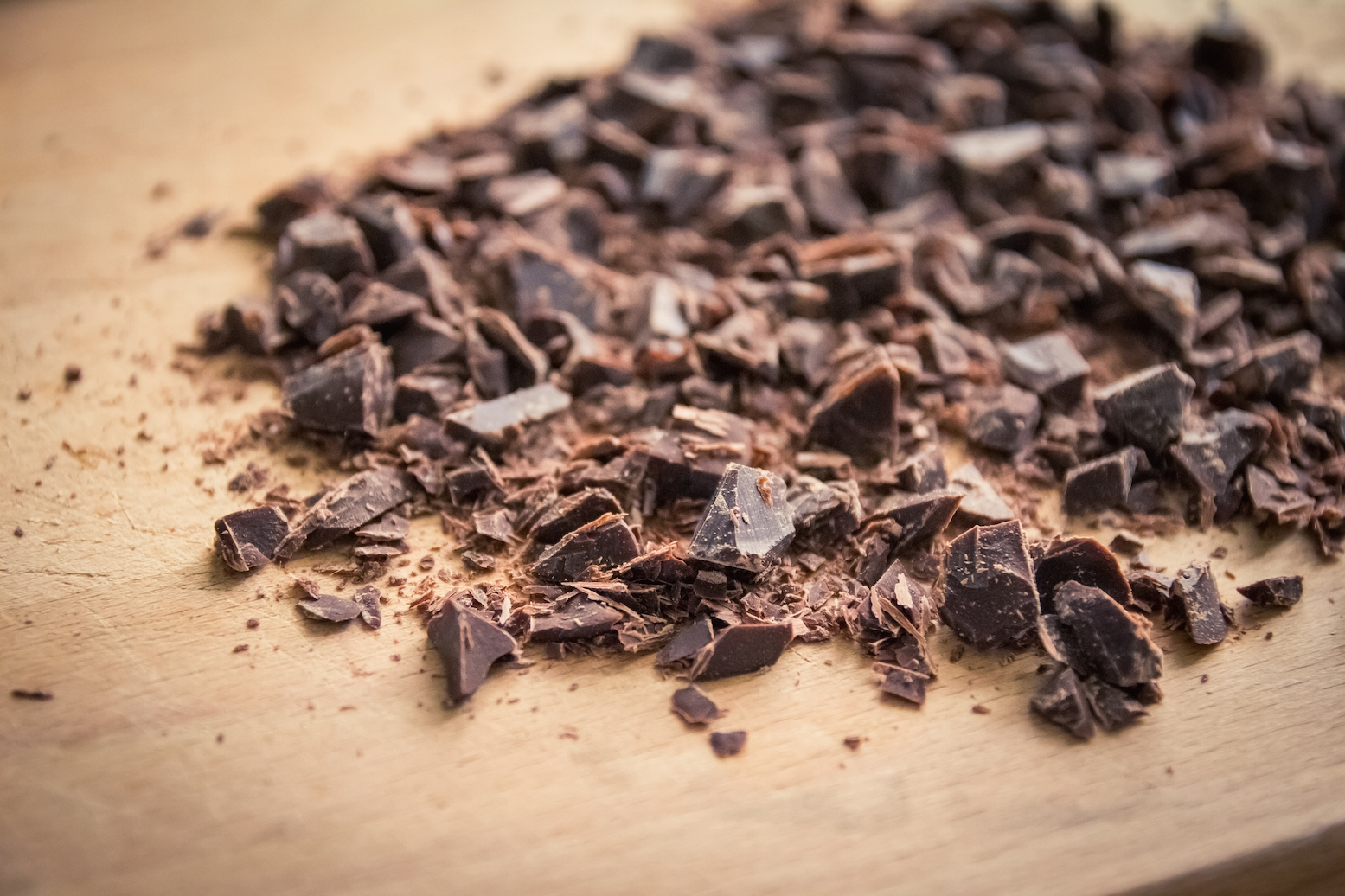 chocolat en copeaux et pépites